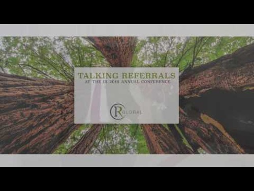 IR Global Members: Talking Referrals
